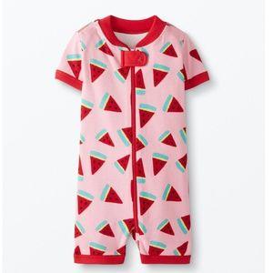 NWT Organic Cotton Watermelon Print Sleeper